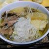 【今日の食卓】クィッティオ・ナーム・センミー(米粉麺・極細麺の汁そば)