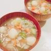 【 ご飯ログ 】 重ね煮のおからすいとん 【 レシピ 】