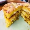 「IWANE  Ü 」で食べるリコッタチーズのパンケーキ@エムクオーティエ(HELIX)