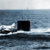 A-4が潜水艦から離陸する画像について