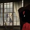 シャドーハウス 2話 窓拭きして転落するエミリコちゃん  迎えに来たサラ