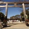 お礼参りに神社へ(1)