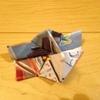 お友達が作った折り紙のカメラ