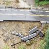 中津川市の国道19号線で土砂崩れ中津川市落合から山口の間通行止め
