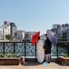 博多は晴天なり。重要文化財での前撮り