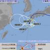 台風12号は30日15時現在で屋久島の西約60kmにあって中心気圧は994hPa・最大風速は18m/s・最大瞬間風速は25m/s!31日にかけてやや発達しながら屋久島地方を反時計回りに進見込み!