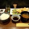 新富町【銀座 大海(おおみ)】大分とり天定食 ¥850