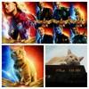 「猫は抱くもの」じゃない😅「キャプテン・マーベル」オマケはスパイダーマン
