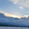 雲の上は青空