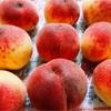 お弁当の日と桃