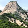北漢山 白雲台(ベクンデ 837m)