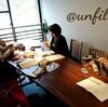 レッスンレポート)11/9 本川町教室 編み物ベテランさんの教室です