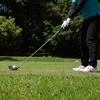 連休初日。ゴルフ!!