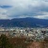 長野県松本市「弘法山古墳」がある弘法山は、春は桜の山になる。ものすごく綺麗ですよ。