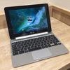 Chromebook flipの写真を撮ってみた@いい感じのイオンイートインスペース