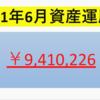 【2021年7月投資運用額】900万円突破!!・・1000万円が見えてきた!!