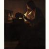 ラトゥール「悔い改めるマグダラのマリア」 暗い部分に隠されている物