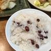【余ったお餅でお赤飯】もち米がなくてもフワフワのおこわになりました。