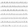 音符の組合せとフィボナッチ数列