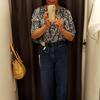 ユニクロUのカーブジーンズはサイズ感より足の長さが課題