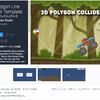 【新作無料アセット】コライダー付きの『線』を手軽に描画するスクリプト。スマホアプリの定番のお手軽2Dパズルゲームを作りたい方にオススメ!物理的な2D水エフェクトと組み合わせが可能な2Dラインコライダーシステム「2D Polygon Line Collider Template」