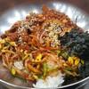 木浦(モッポ)で、メクチビビンバ(タコのビビンバ)を食べたよ!!