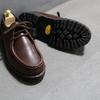 This is チロリアンシューズ。中山製靴のチロリアンシューズ