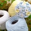 春を先取り!レース糸で作る ピンブローチ