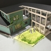 木造2階建て専用住宅の課題(意匠模型いろいろ)