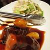 【閉店】大宮南銀「Chinese Restaurant&Bar RISE 」の豚の角煮黒酢仕立て