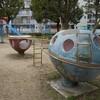 宇宙船ライクな公園遊具