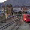 名古屋鉄道美濃町線・美濃駅 廃線1ヶ月前の光景