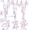 4ー4 「走り」のポーズ(2/2)