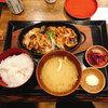 あえての生姜焼き!!!しんぱち食堂で魚以外を食べてみました