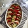 夏野菜の並べ蒸し焼き