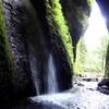 岸田川流域の滝めぐり(その6)シワガラの滝