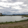 616年に建造された日本最古のダム、狭山池ダムを訪れてダムカードを頂く。