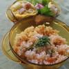 ●サーモンピラフ&スペイン風オムレツのお弁当