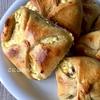 【天然酵母】パン生地がゆるい場合はどうする?-ハンガリーのカッテージチーズ入り天然酵母の菓子パン:Túróstáska-