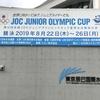 2019全国JOCジュニアオリンピックカップ夏季大会に帯同しました