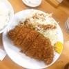 【グルメ】高田馬場で食べたロースカツ定食✨
