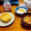 大豆粉パンケーキ