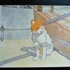 水彩画18枚目「ひなたネコ」