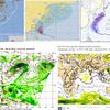 【台風情報】台風24号は27日06時で950hPaと大型で非常に強い勢力!今後海面水温の高いエリアを進むため、940hPaと再発達する予想!気象庁・米軍・ヨーロッパ・NOAA・韓国の進路予想は九州上陸・本州縦断!台風のたまごも3つ存在!!