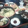 寿司うどん(ランチ)セット。