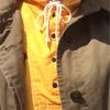 今日の服|アノラックとステンカラーコート