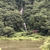 最上川に落ちる日本100選の滝『白糸の滝』