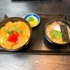 よしもと祇園花月横の「祇園京めん」で海老かつ丼セットを頂きました
