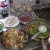 幸運な病のレシピ( 2006 )夜:ホタルイカ、油揚げと牛肉の焦がしネギ、棒々鶏、汁