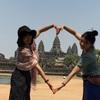 カンボジア シェムリアップ アンコールワット日本人二人旅